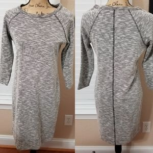 Like new black & White Merona sweater dress S/P